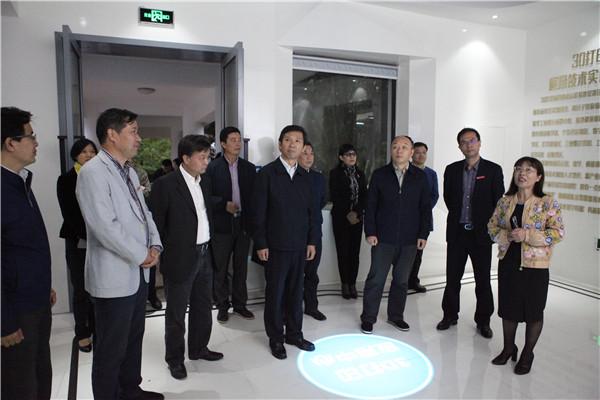 中共中央组织部专题调研组到集团调研考察